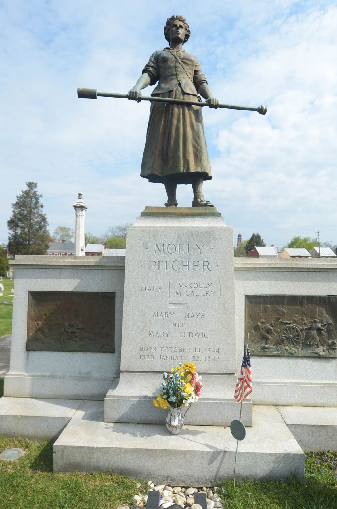Molly Pitcher gravesite