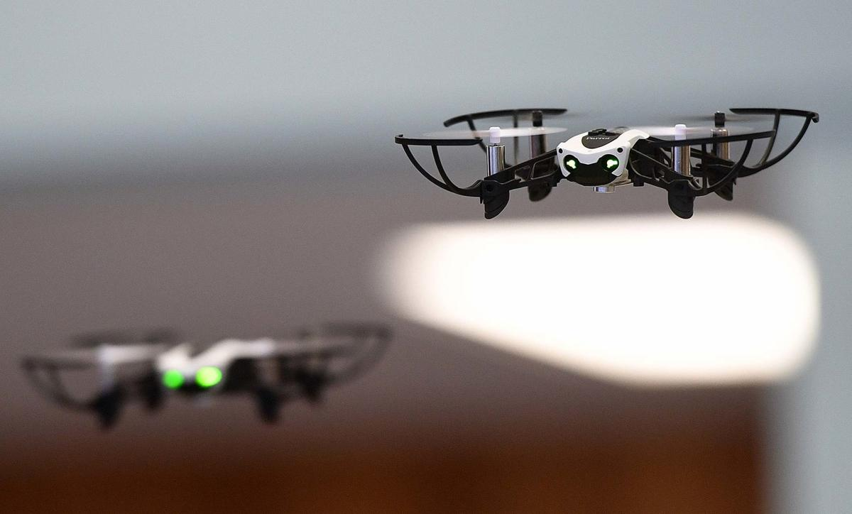 Rossmoyne Elementary Drones