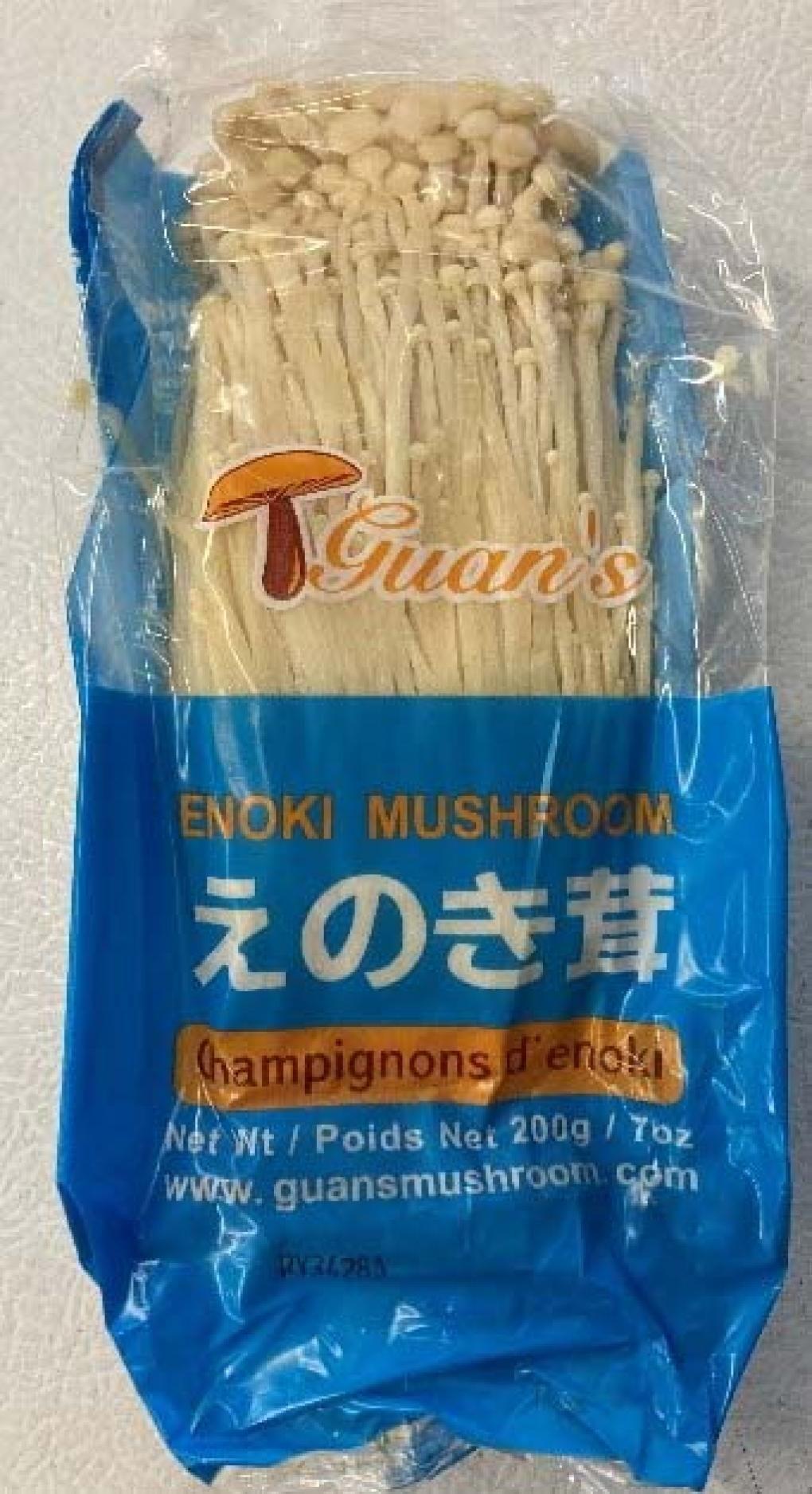 Recall Enoki mushroom
