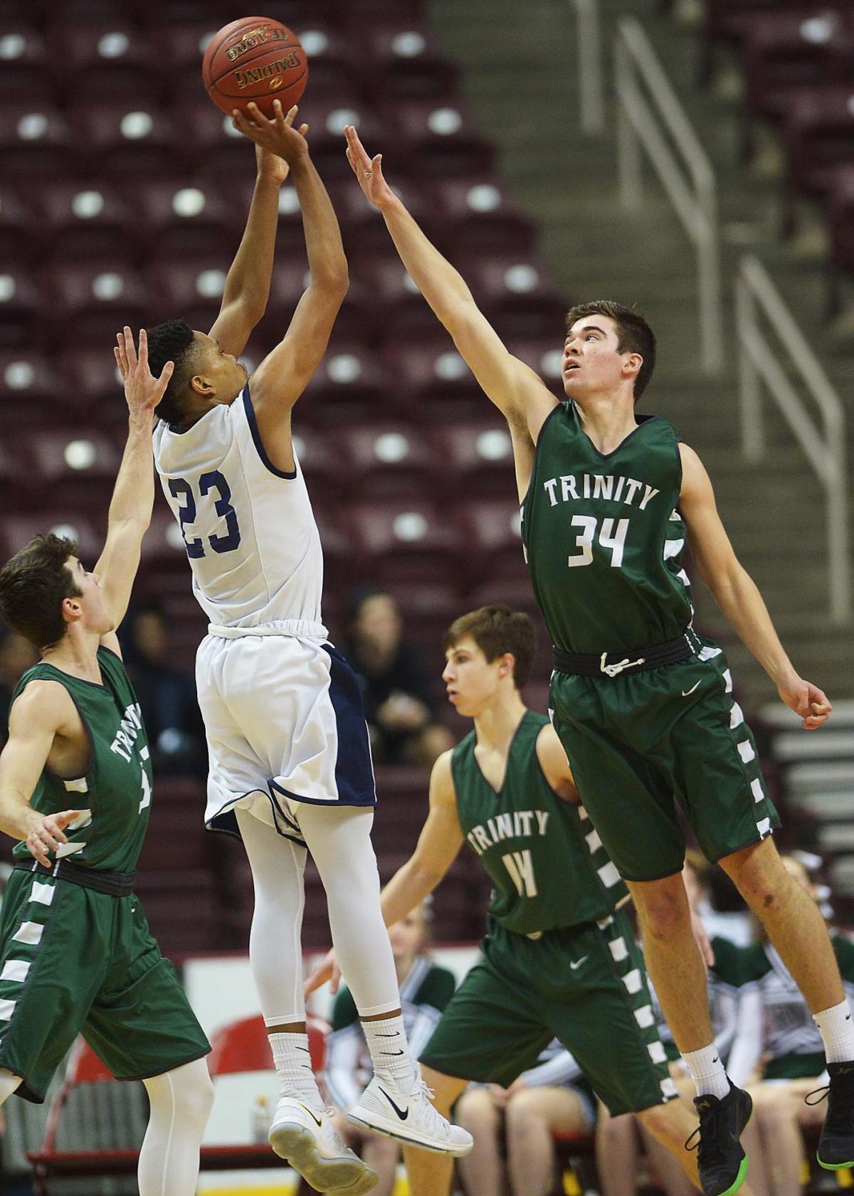District 3 Boys Basketball: Trinity vs Kutztown