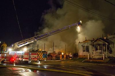 Lafferty & Company Wholesale Lumber Fire