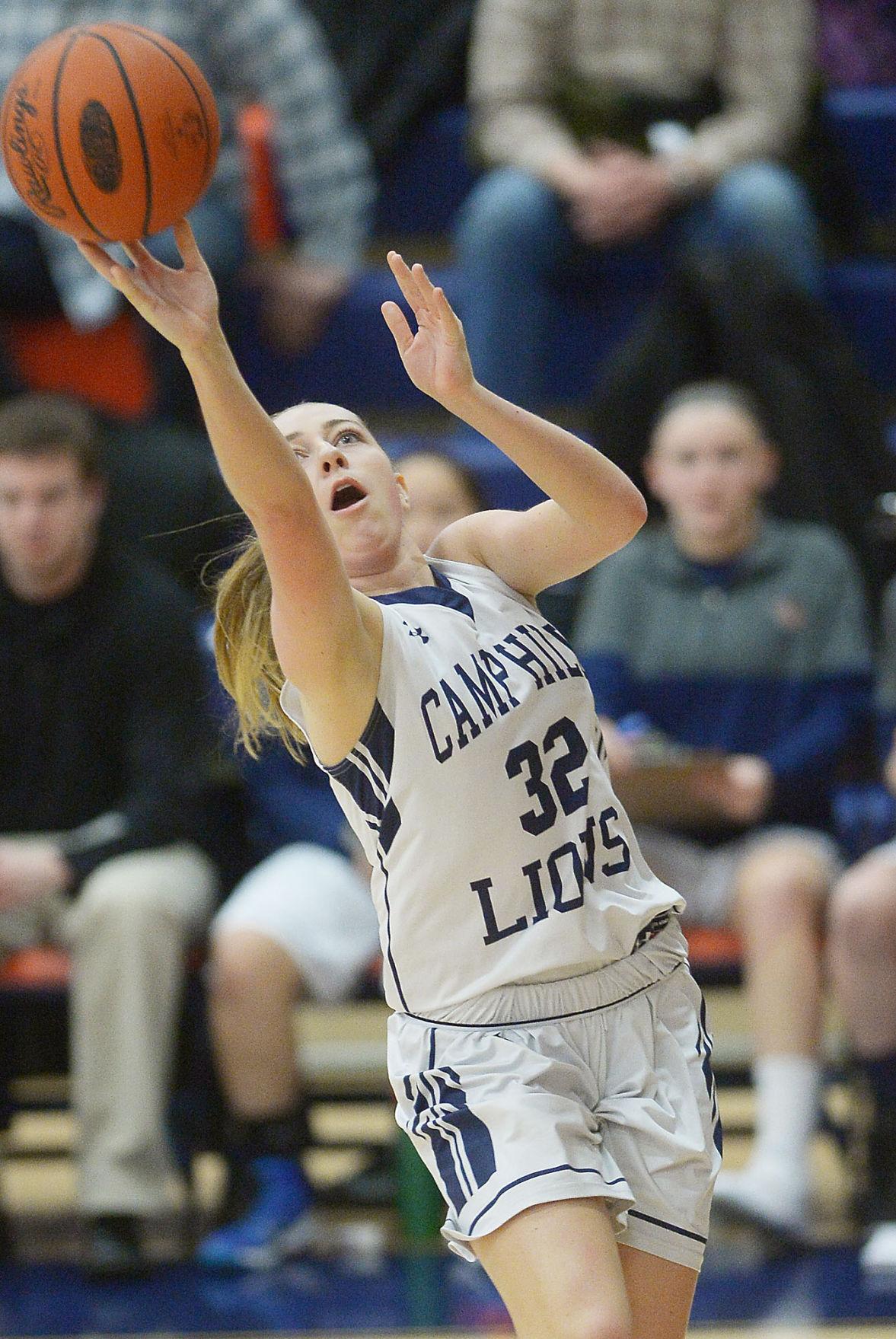 PIAA Class 2A Girls Basketball: Camp Hill vs Blairsville (copy)