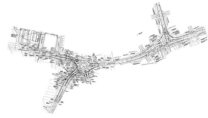 Lisburn Road roundabouts