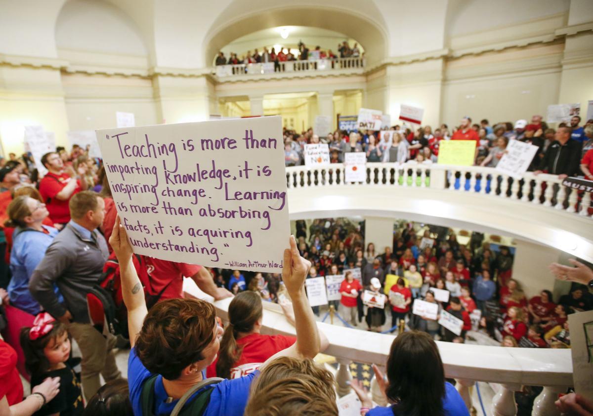 Teacher Protests Oklahoma