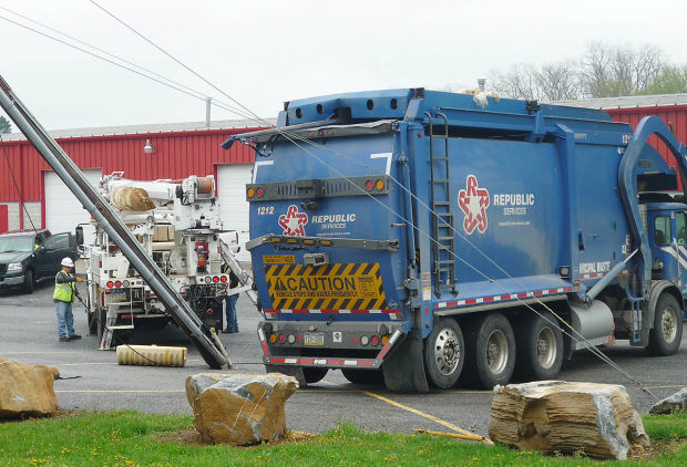 Garbage Truck Backs Into Utility Pole Cuts Power In South