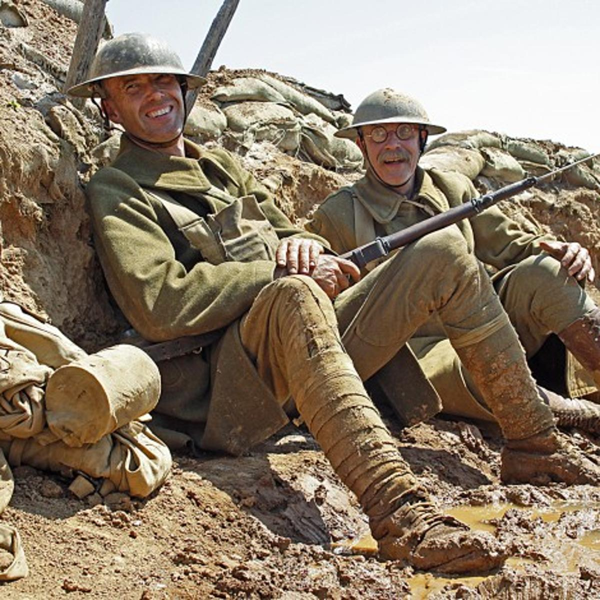 Soldiers, veterans add real experience to reenactments at