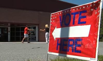 Hampden polling place