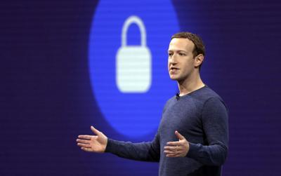 Facebook CEO Mark Zuckerberg, AP file photo