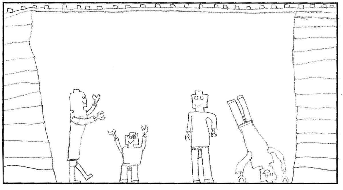 Kids Speak Out drawing
