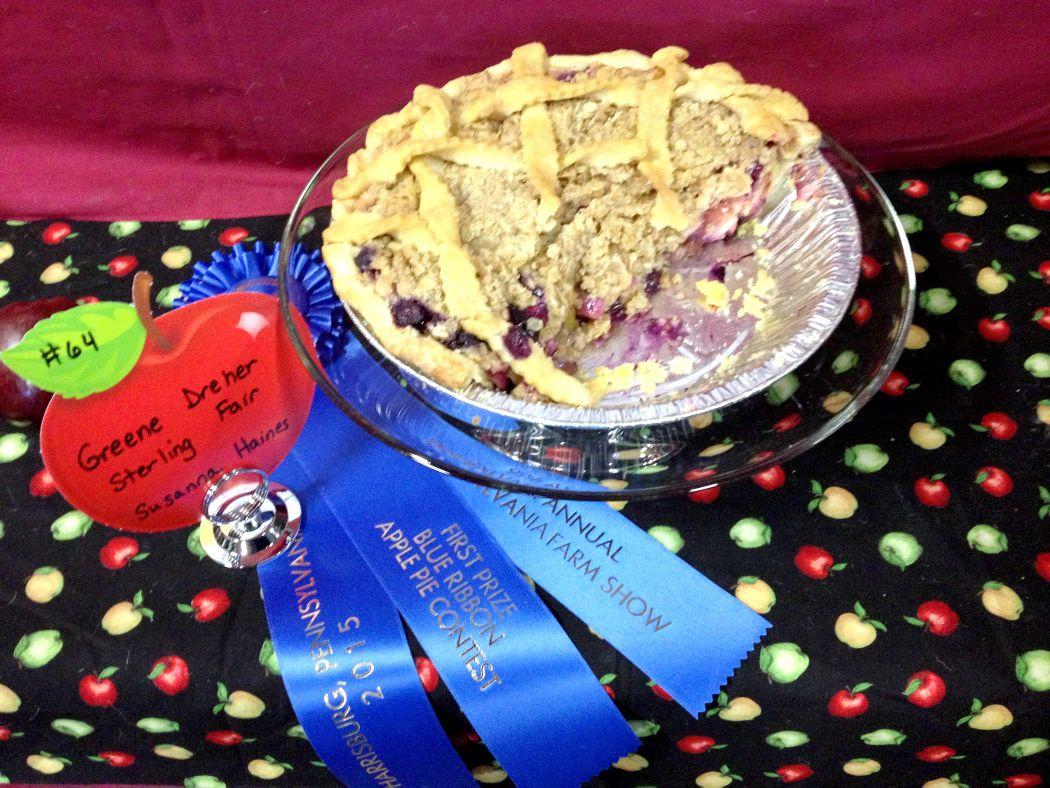 Farm show apple pie
