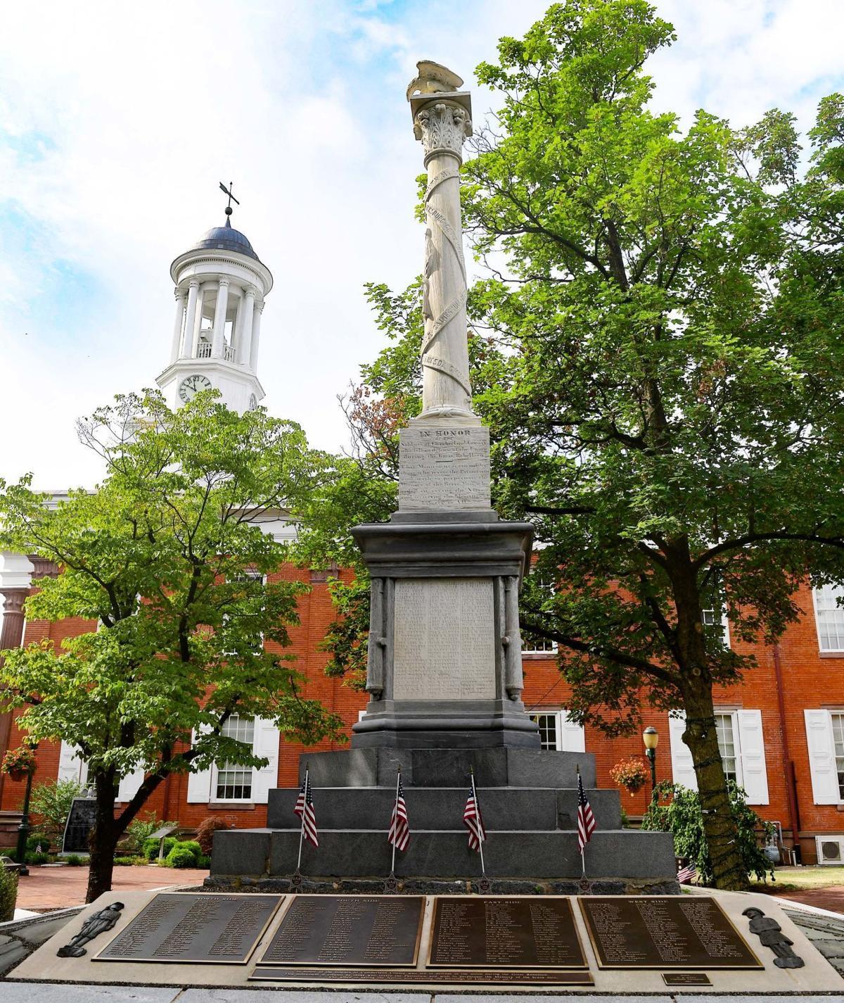 Veteran's Square Civil War Monument