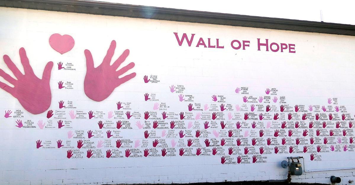 Pink hands of Hope