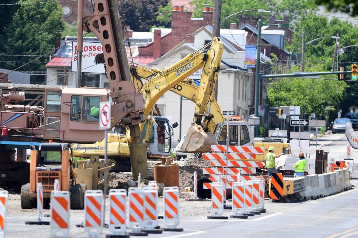 High Street Bridge Construction 1.JPG
