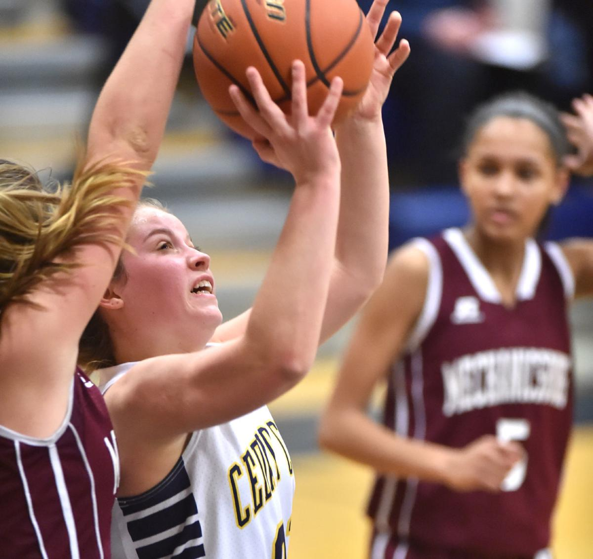 Girls Basketball Mechanicsburg at Cedar Cliff Jan 17, 2018 (copy)