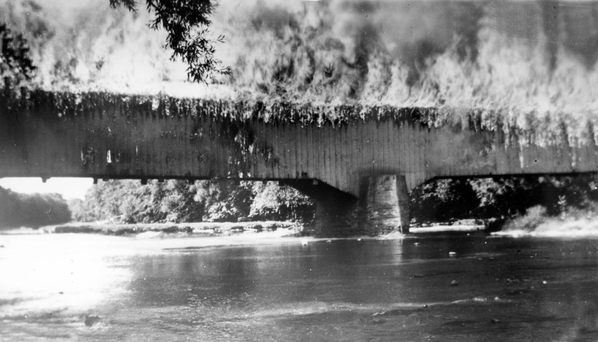 Covered Bridge fire