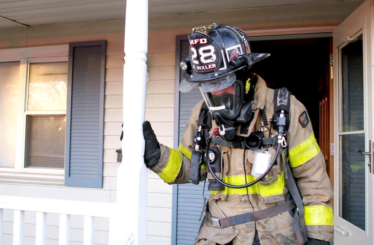 Mechanicsburg fire training