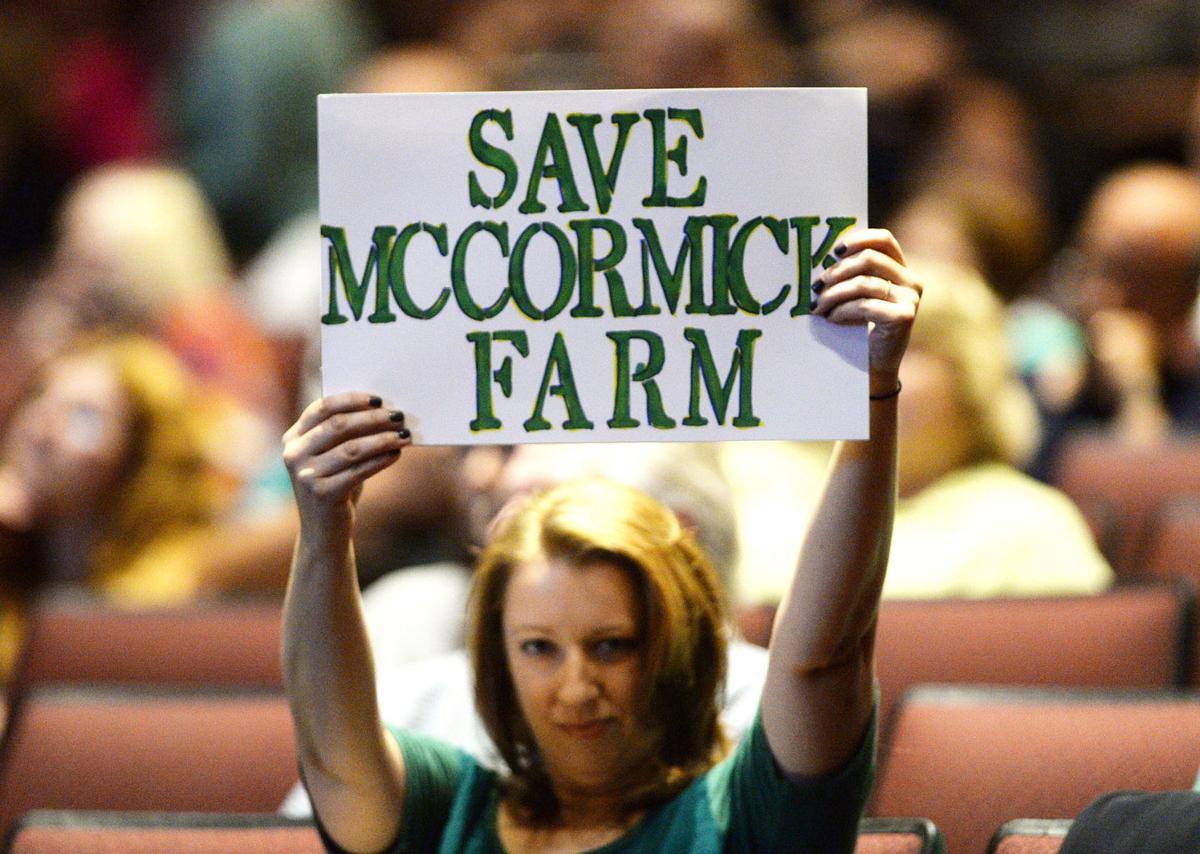 McCormick Farm Town Hall Meeting