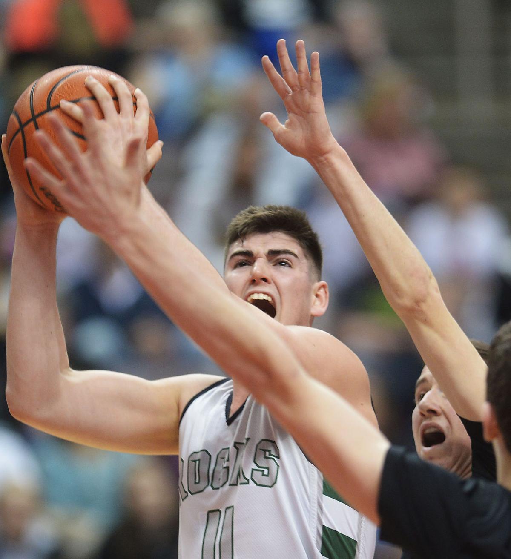 District 3 Boys basketball: Trinity vs Lancaster Mennonite (copy)