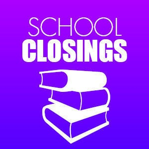 School closings logo