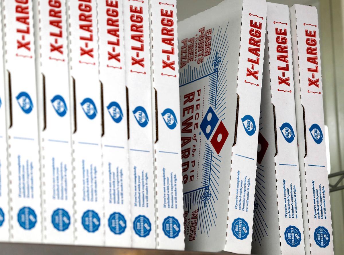 Dominos Outdoor Delivery
