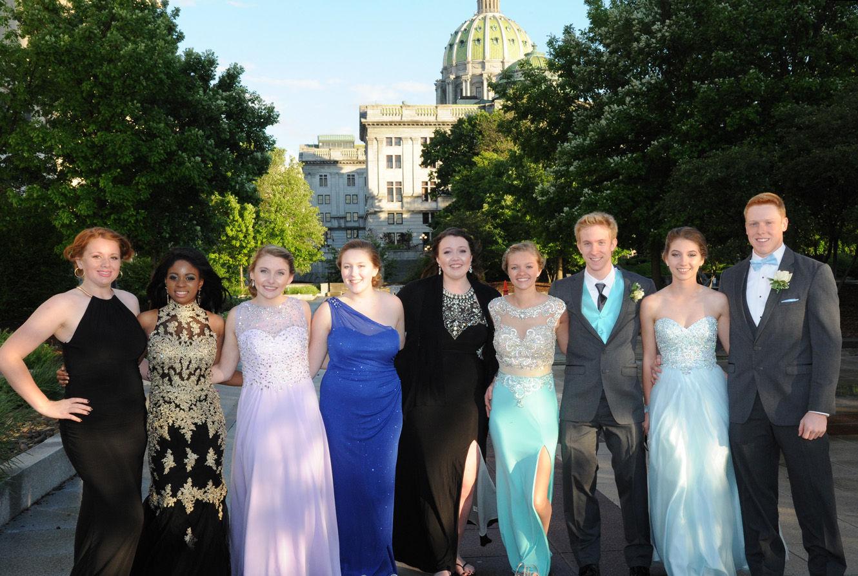 Mburg High Prom Mechanicsburg Area Senior High