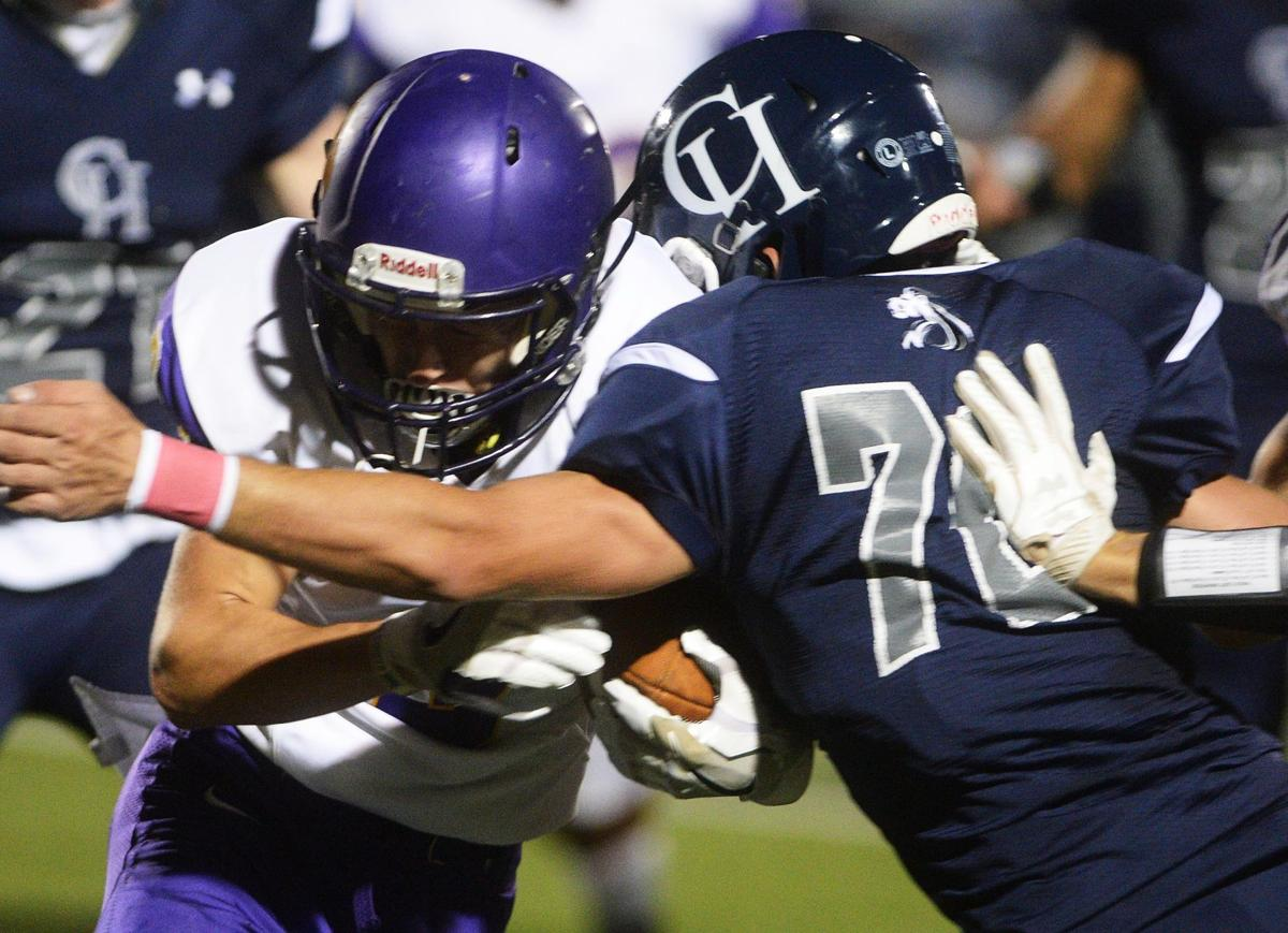 Football: Boiling Springs at Camp Hill Football