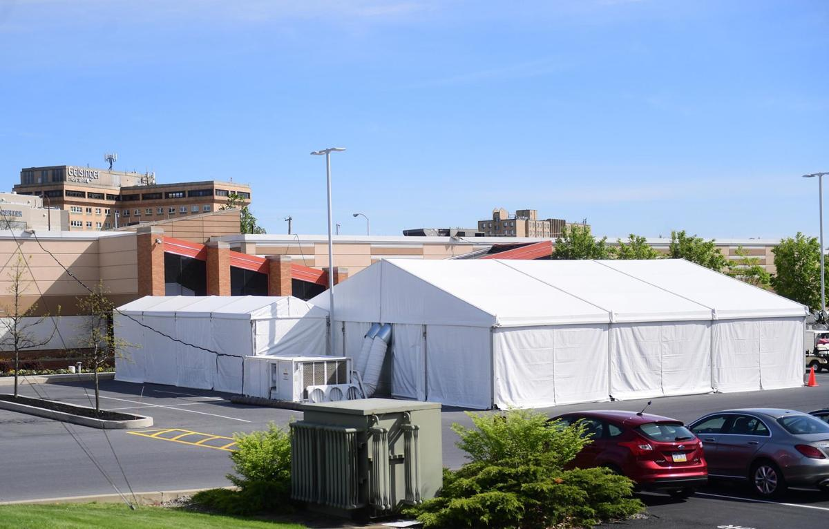 Geisinger Holy Spirt Hospital Tent