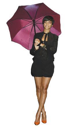 Parasols: A lightweight umbrella carried by women as a sunshade