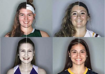 Game Face: For high school female athletes, makeup and hairstyles ...