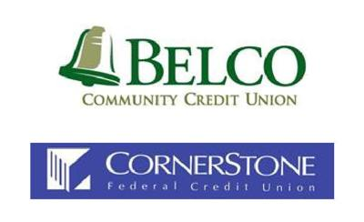 Belco Cornerstone FCU logos