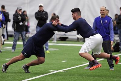 Penn State Pro Day Football