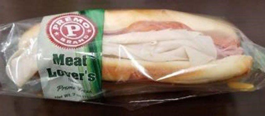 Recall sandwich
