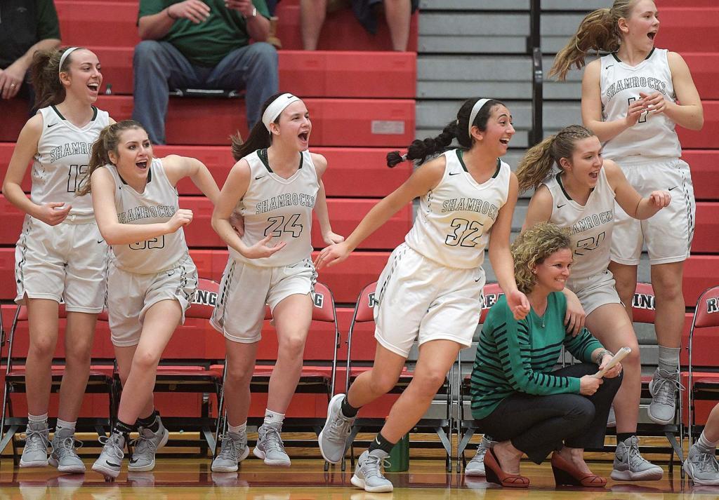 PIAA Girls Basketball Photos Trinity Vs Imhotep Charter
