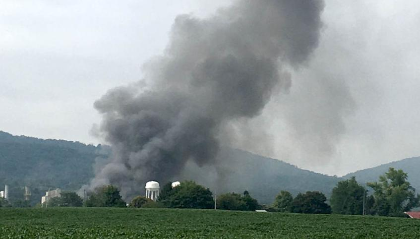 PPG fire South Middleton