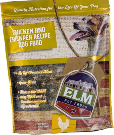 Elm dog food recall