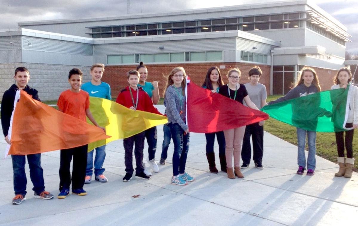 Lamberton Students Raise The Flag On Air Quality