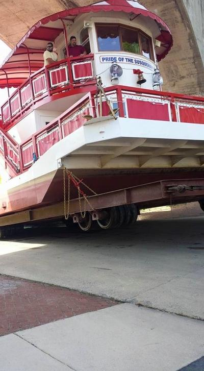Riverboat Pulled From Susquehanna For Repairs Harrisburg