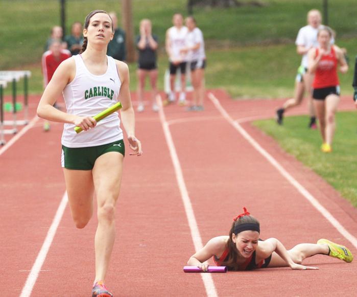HS Track & Field: Carlisle sweeps past CV : Varsity