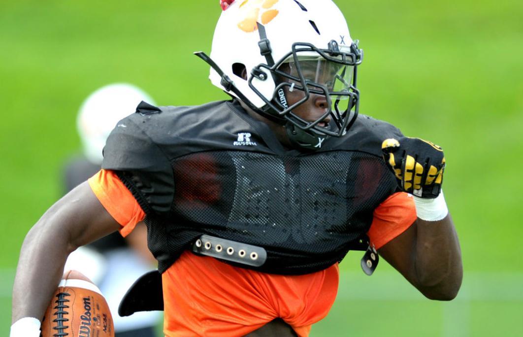 East Pennsboro football practice Aug 18, 2017 (copy)