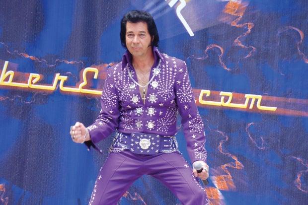 Brad Crum as Elvis