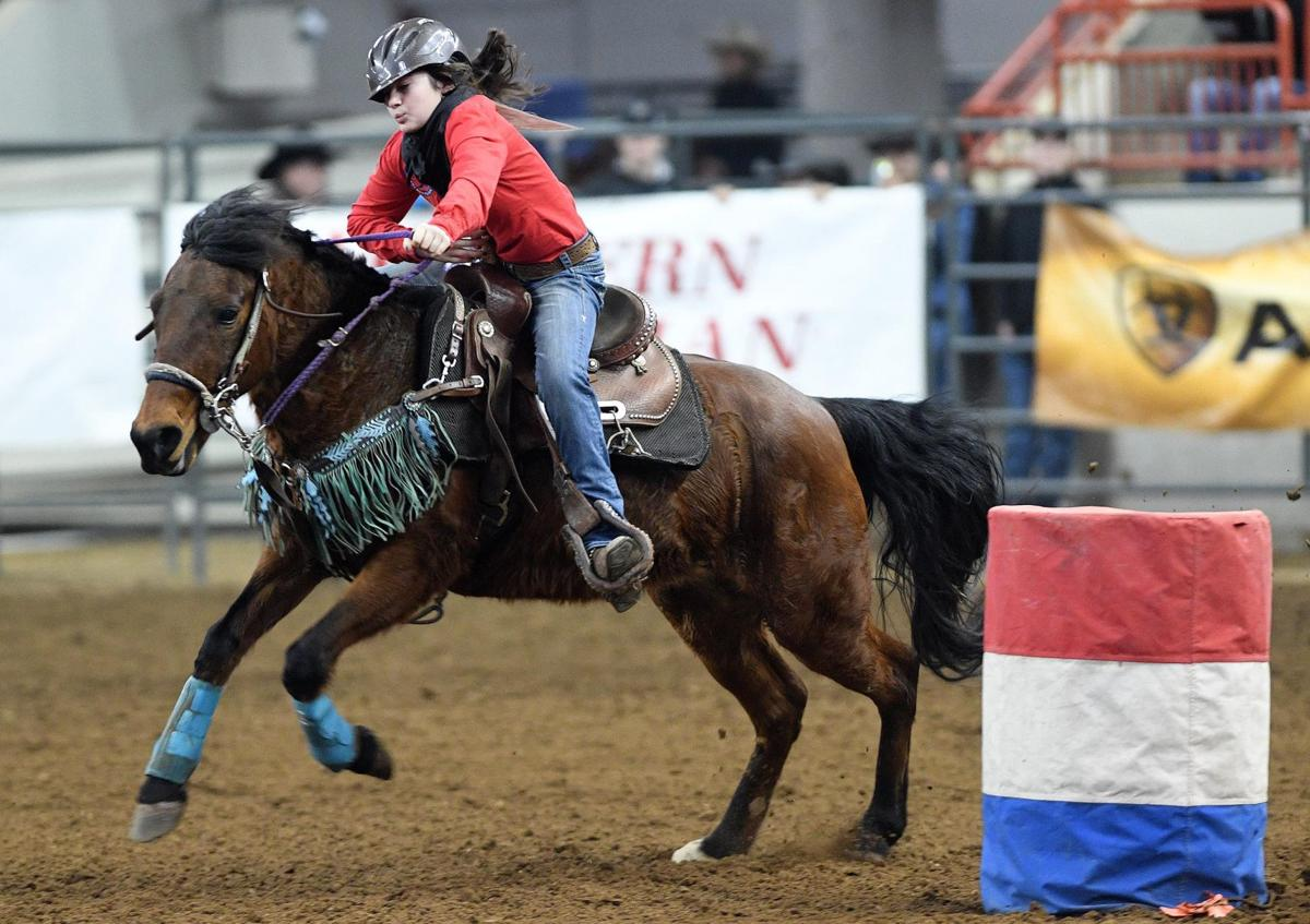 Rodeo Officials Help Open This Year S Farm Show Capital