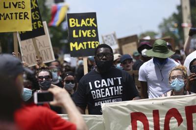 America Protests Philadelphia