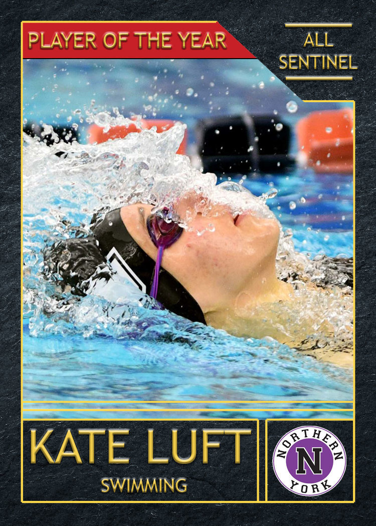 2018-19 All-Sentinel Girls Swimming POTY: Northern Kate Luft