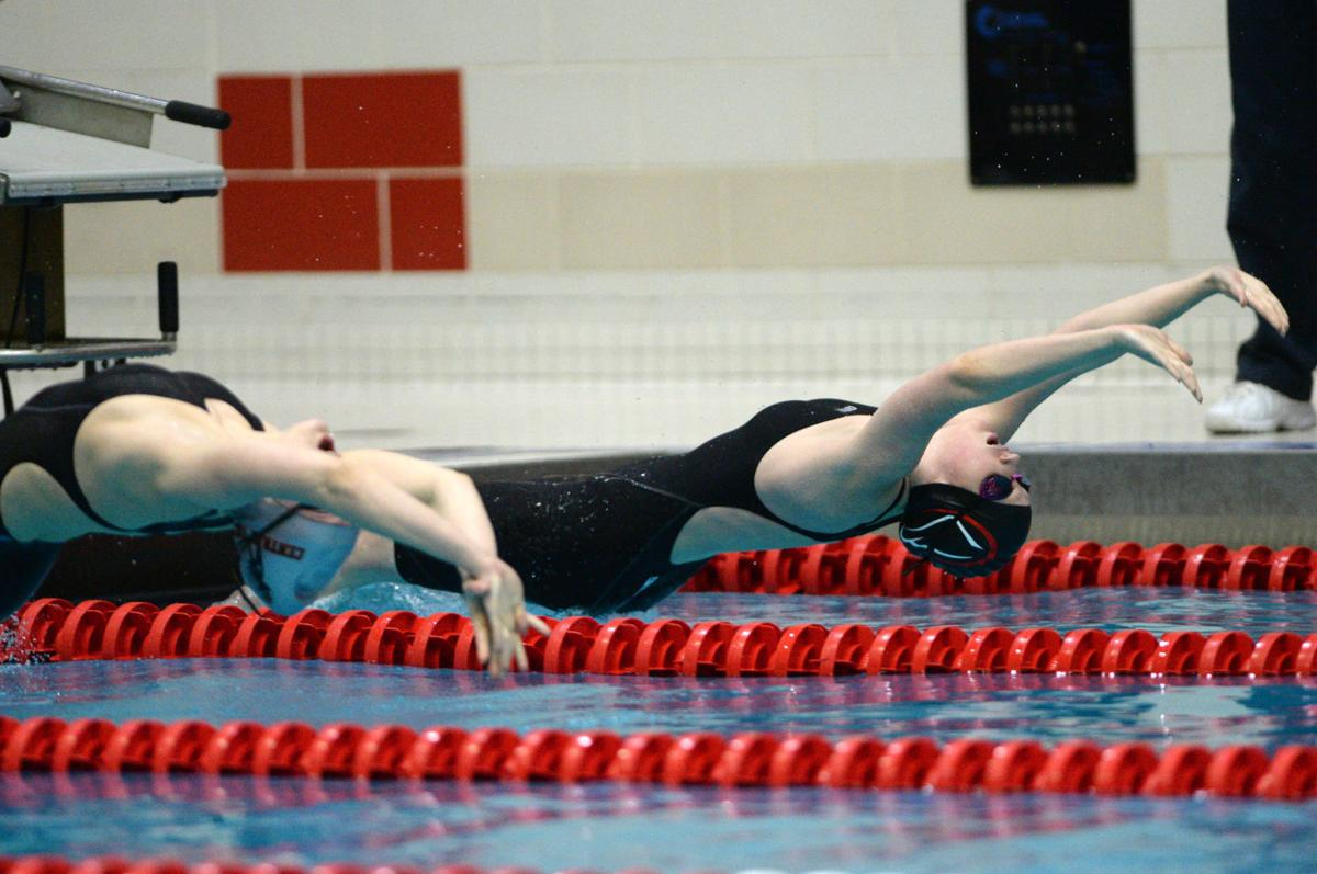 Girl's 3A Swimming