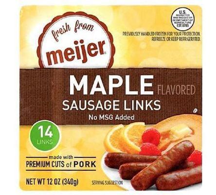 Sausage links recalled