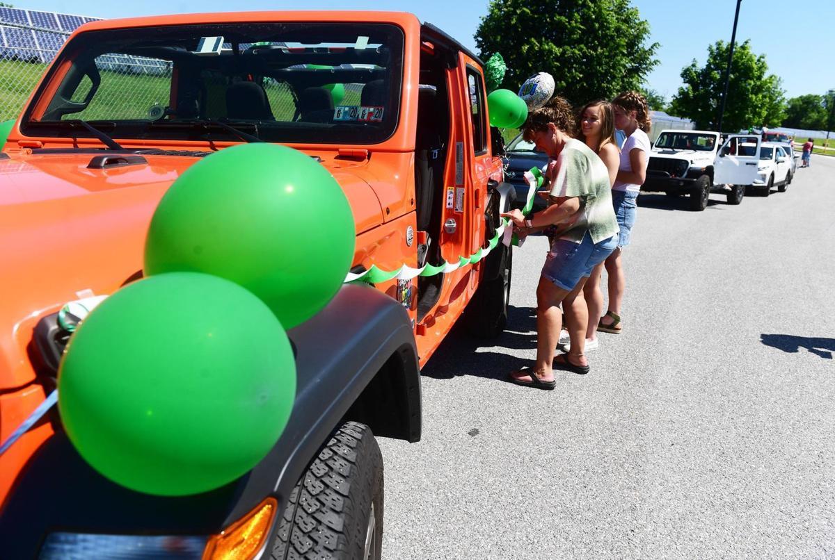 Carlisle High School 2020 Graduate Car Parade 5