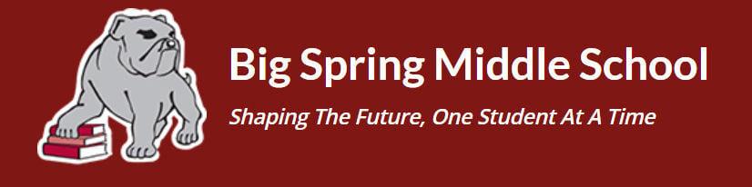 Big Spring Middle School logo