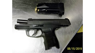 Man charged when loaded gun found at Harrisburg airport