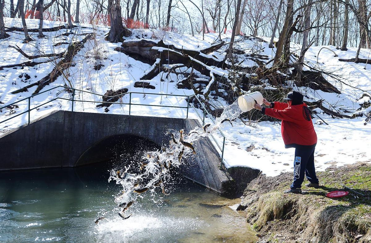 Anglers prepare for trout season opener in cumberland for Pa fish stocking