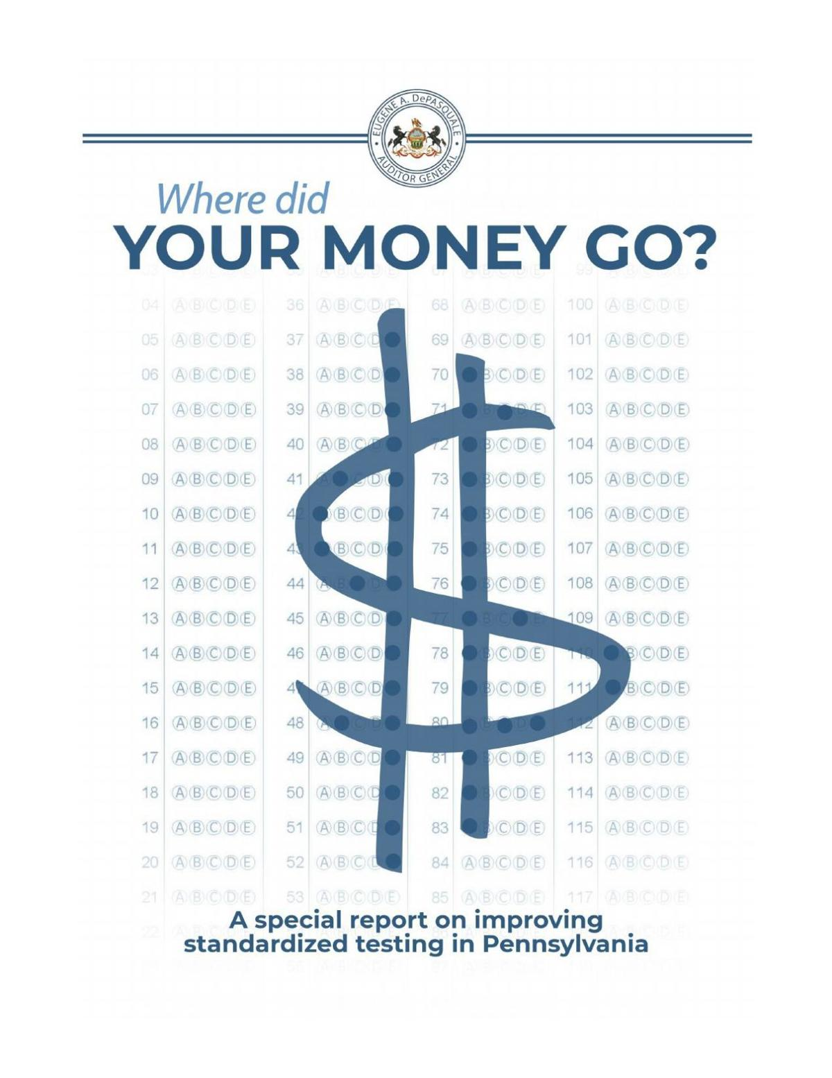 AG Report: Where did your money go?